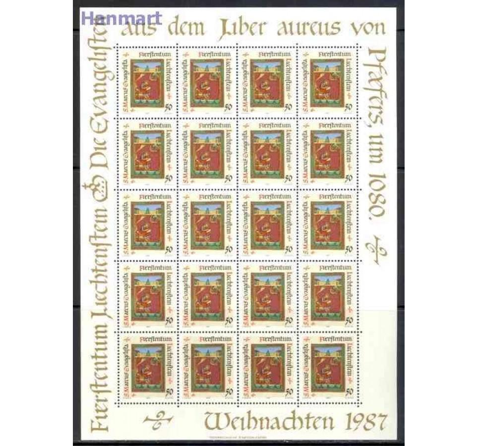 Liechtenstein 1987 Mi ark 930-933 Czyste **