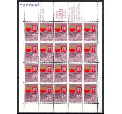 Znaczek Liechtenstein 1987 Mi ark 928-929 Czyste **