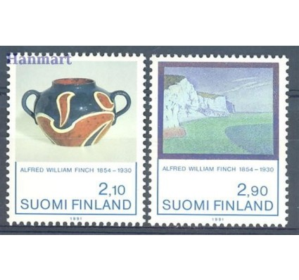 Finlandia 1991 Mi 1146-1147 Czyste **