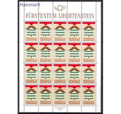 Znaczek Liechtenstein 1990 Mi ark 984-985 Czyste **