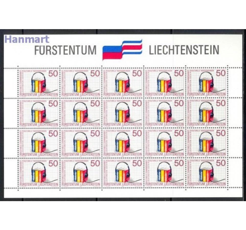 Liechtenstein 1988 Mi ark 945-946 Czyste **
