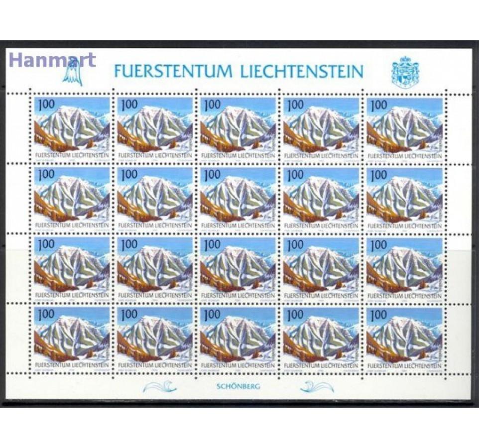 Liechtenstein 1989 Mi ark 993-996 Czyste **
