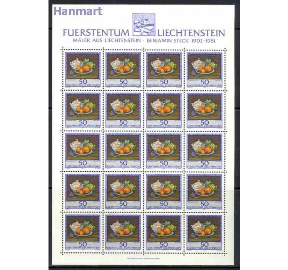 Liechtenstein 1990 Mi ark 990-992 Czyste **