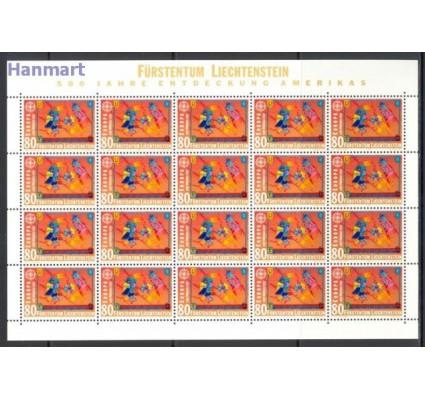 Liechtenstein 1992 Mi ark 1033-1034 Czyste **