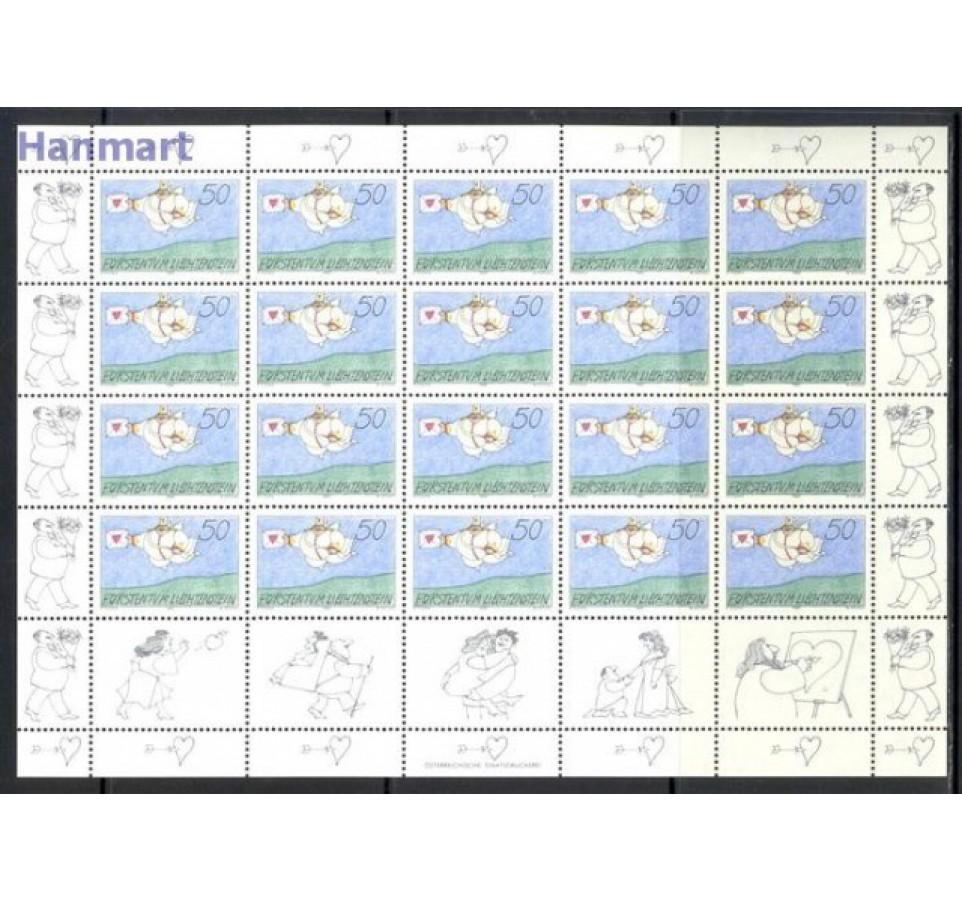 Liechtenstein 1992 Mi ark 1041-1044 Czyste **