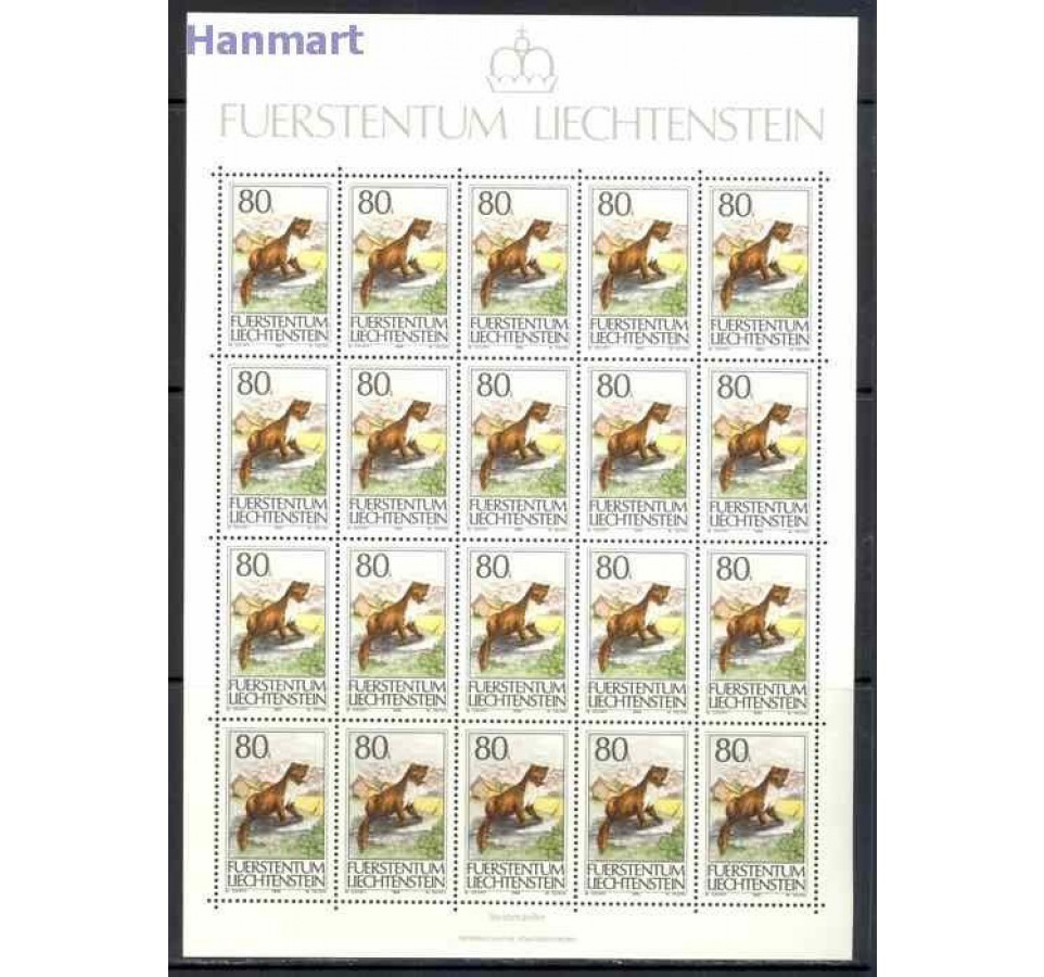 Liechtenstein 1993 Mi ark 1066-1068 Czyste **