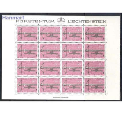 Liechtenstein 1980 Mi ark 751-753 Czyste **