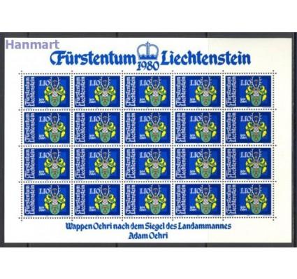 Liechtenstein 1981 Mi ark 743-746 Czyste **