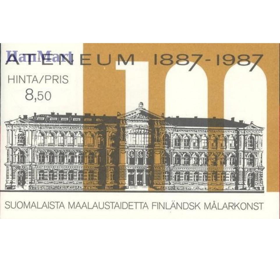 Finlandia 1987 Mi mh 18 Czyste **