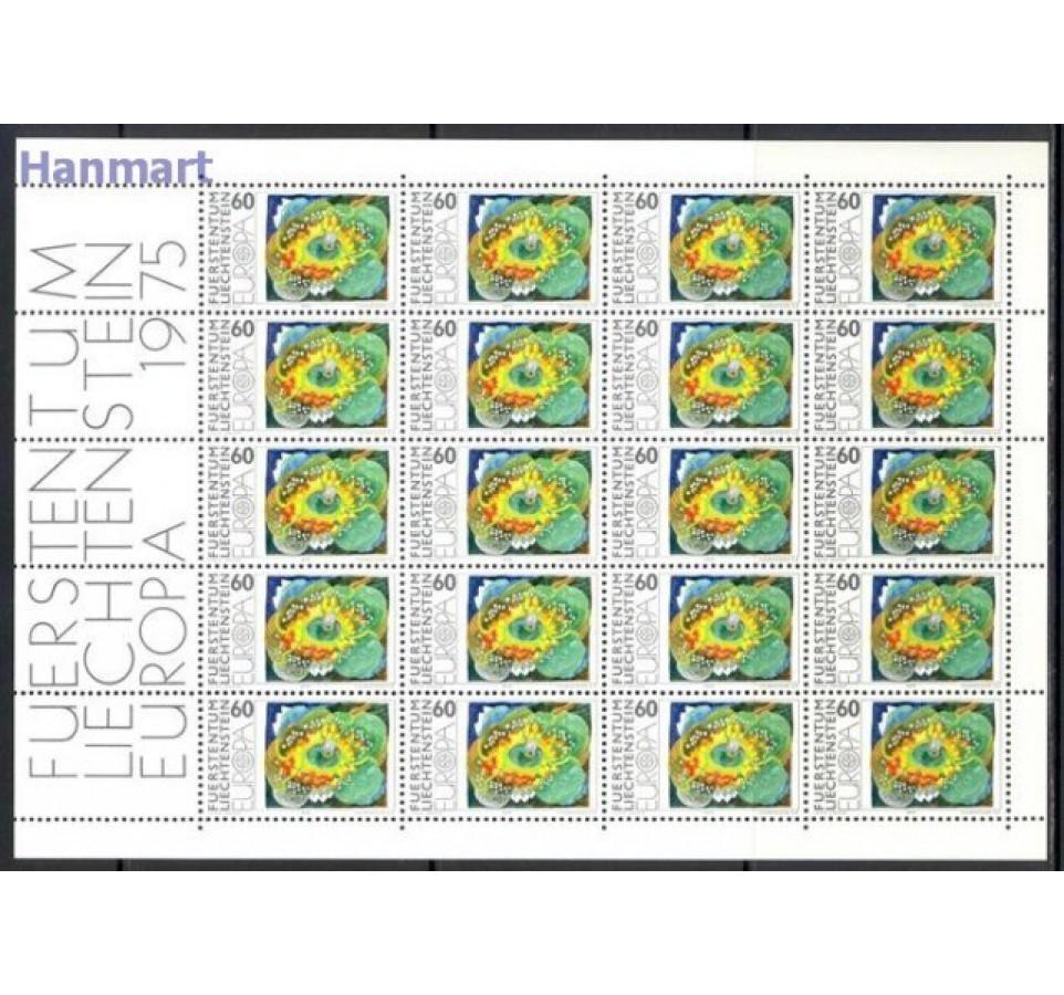 Liechtenstein 1975 Mi ark 623-624 Czyste **