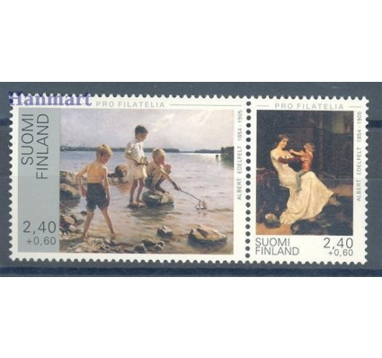 Znaczek Finlandia 1995 Mi 1289-1290 Czyste **