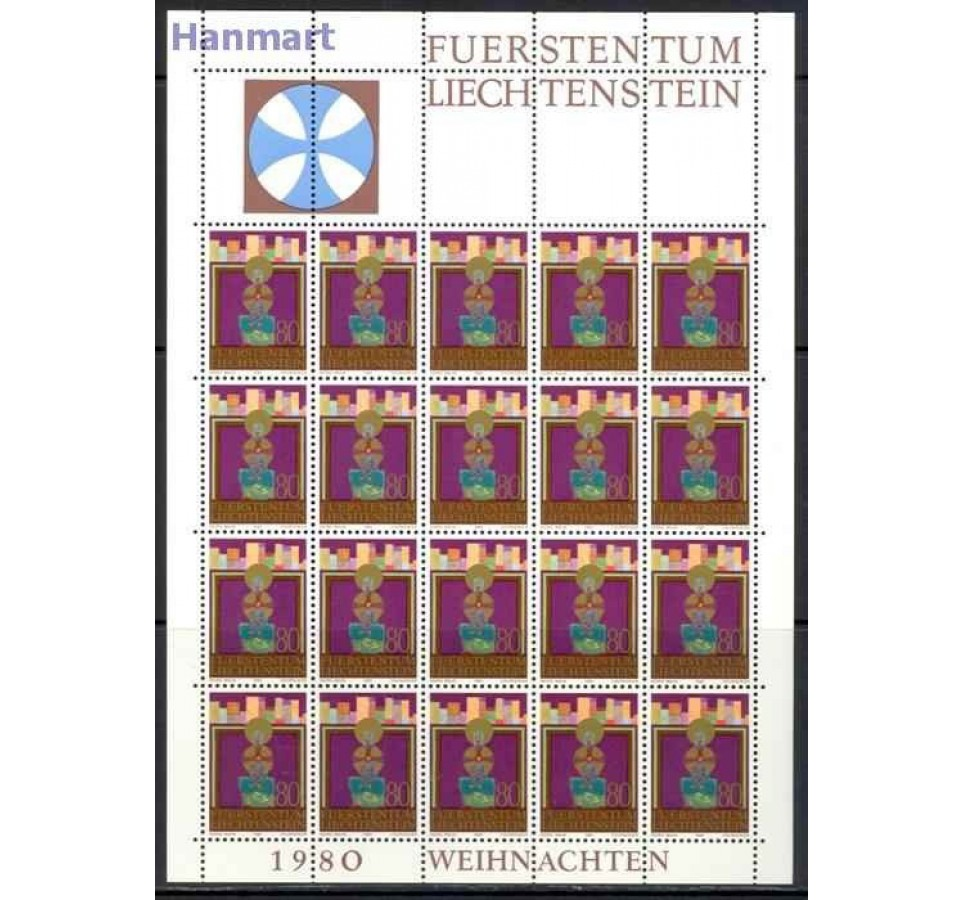 Liechtenstein 1980 Mi ark 761-763 Czyste **