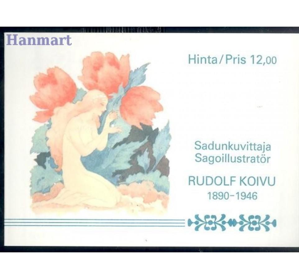 Finlandia 1990 Mi mh 26 Czyste **