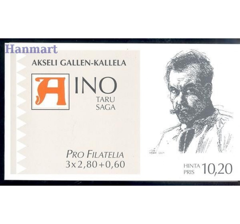 Finlandia 1997 Mi mh 48 Czyste **