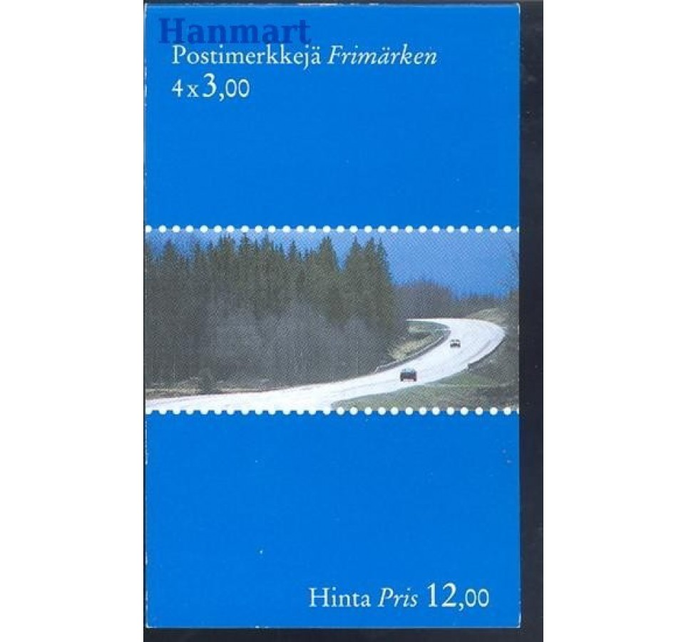 Finlandia 1999 Mi mh 53A Czyste **
