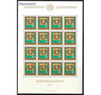 Znaczek Liechtenstein 1977 Mi ark 673-676 Czyste **