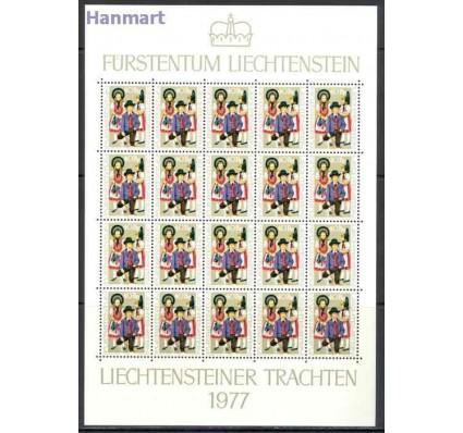 Znaczek Liechtenstein 1977 Mi ark 684-686 Czyste **
