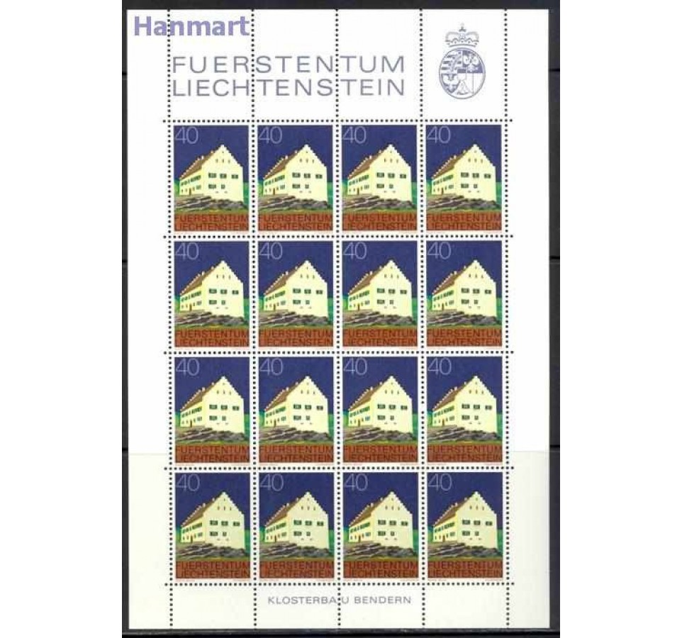 Liechtenstein 1978 Mi ark 694-705 Czyste **
