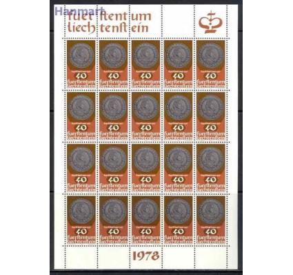 Znaczek Liechtenstein 1978 Mi ark 710-712 Czyste **