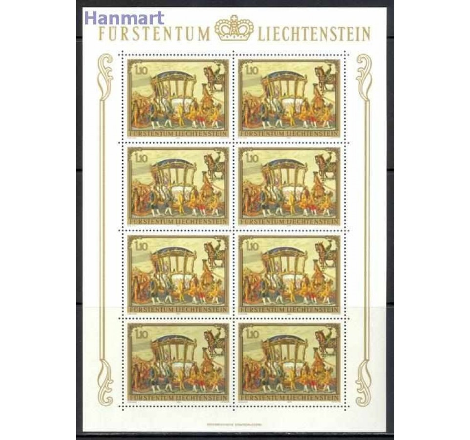 Liechtenstein 1978 Mi ark 717-719 Czyste **