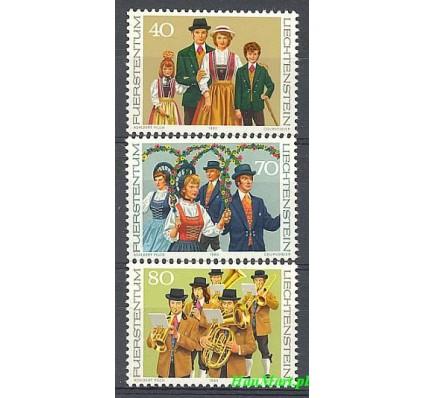Liechtenstein 1980 Mi 754-756 Czyste **
