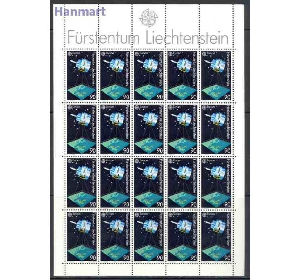 Liechtenstein 1991 Mi ark 1011-1012 Czyste **