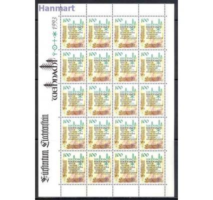 Znaczek Liechtenstein 1993 Mi ark 1073-1075 Czyste **