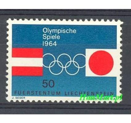 Znaczek Liechtenstein 1964 Mi 437 Czyste **
