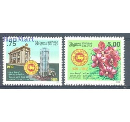 Znaczek Sri Lanka 1989 Mi 875-876 Czyste **