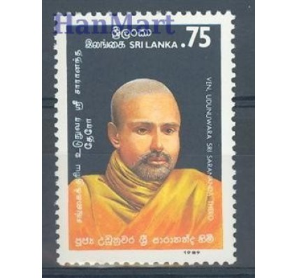 Znaczek Sri Lanka 1989 Mi 898 Czyste **