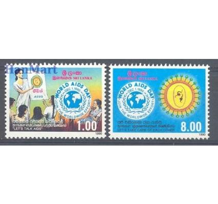 Sri Lanka 1990 Mi 939-940 Czyste **