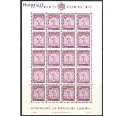 Liechtenstein 1989 Mi die ark 69 Czyste **