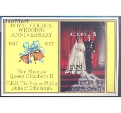 Znaczek Jersey 1997 Mi bl 16 Czyste **