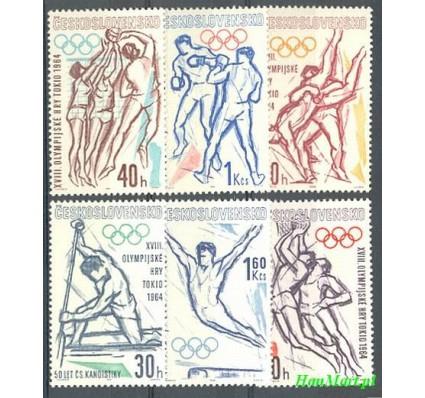 Znaczek Czechosłowacja 1963 Mi 1432-1437 Czyste **