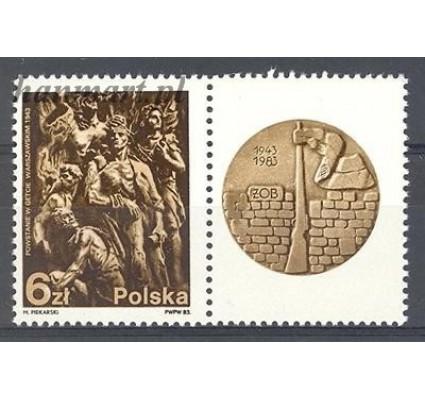 Polska 1983 Mi zf 2866 Fi zf 2718 Czyste **