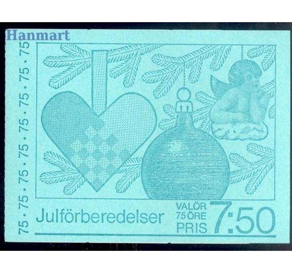 Szwecja 1977 Mi mh 64 Czyste **