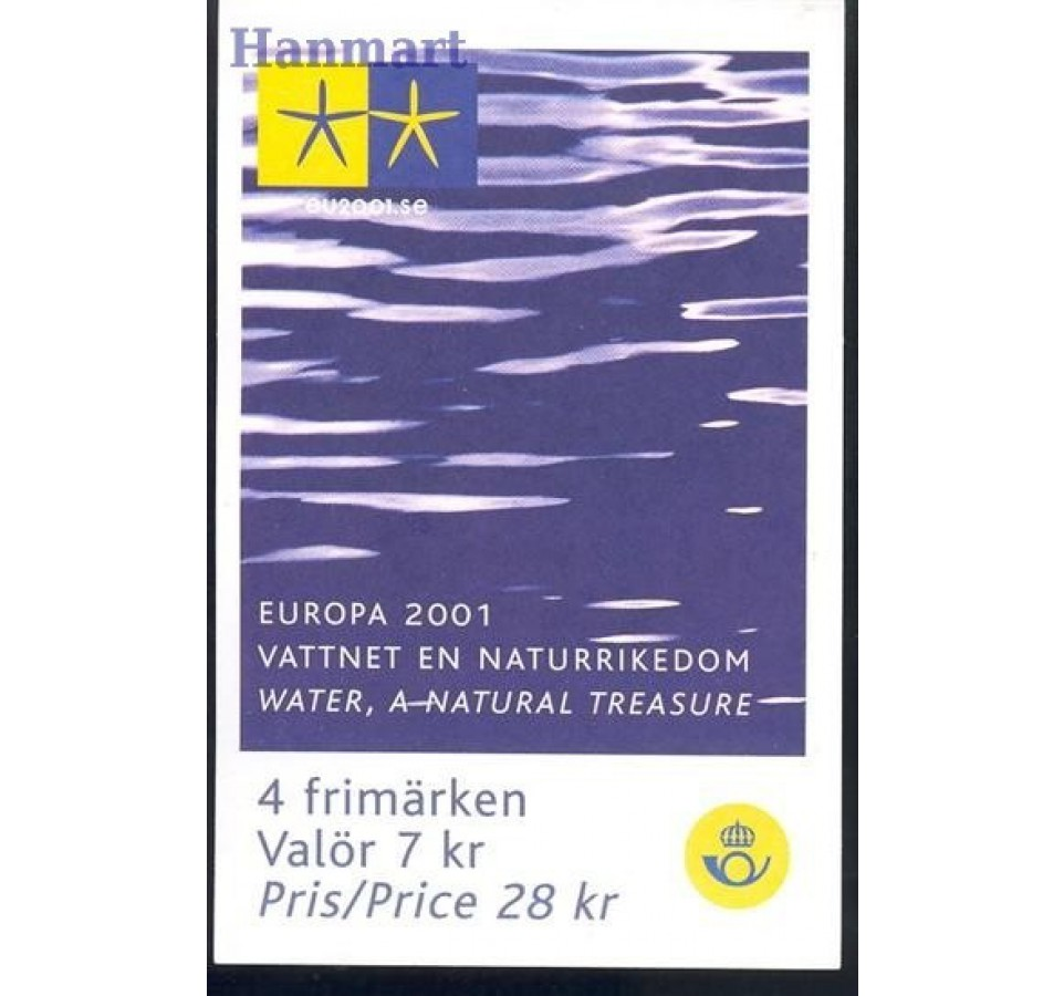 Szwecja 2001 Mi mh 276 Czyste **