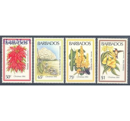 Barbados 1984 Mi 613-616 Czyste **