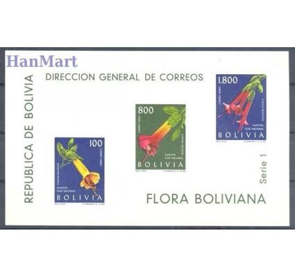 Boliwia 1962 Mi bl 15 Czyste **