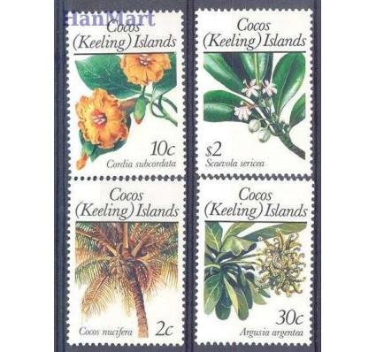 Znaczek Wyspy Kokosowe / Keelinga 1989 Mi 205-208 Czyste **