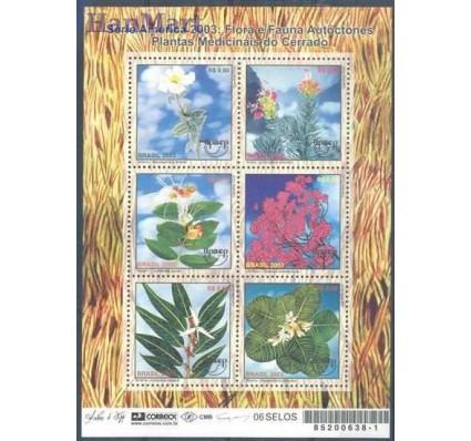 Brazylia 2003 Mi ark 3301-3306 Czyste **