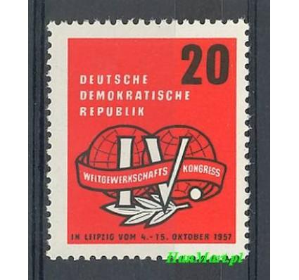 Znaczek NRD / DDR 1957 Mi 595 Czyste **