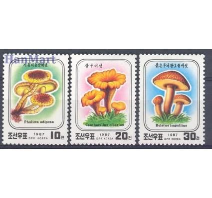 Znaczek Korea Północna 1987 Mi 2798-2800 Czyste **
