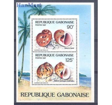 Gabon 1987 Mi bl 57 Czyste **
