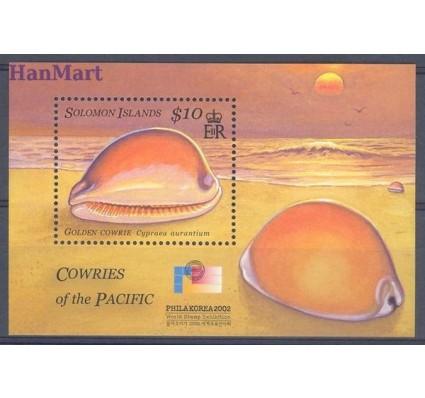 Wyspy Salomona 2002 Mi bl 69 Czyste **