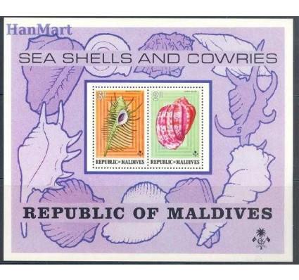Malediwy 1975 Mi bl 29 Czyste **