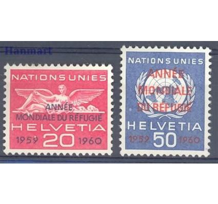 Znaczek Szwajcaria 1960 Mi uno 31-32 Czyste **