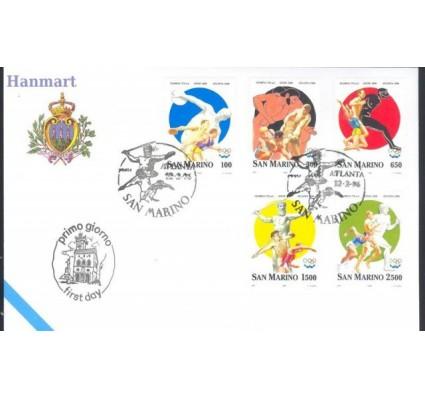 Znaczek San Marino 1996 Mi 1640-1644 FDC