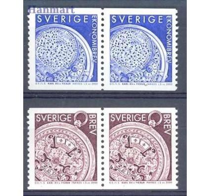 Szwecja 2000 Mi 2157-2158 Czyste **