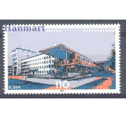 Niemcy 2001 Mi 2172 Czyste **